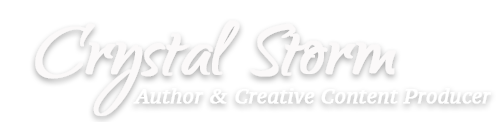 Science Fiction Author Crystal Storm