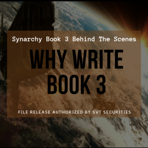 Why Write Synarchy Book 3